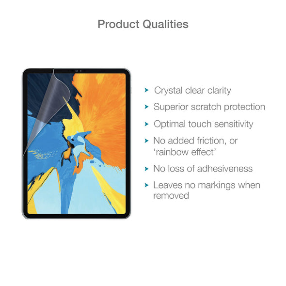 "Apple iPad Pro 11"" Screen Protector (Ultra-Tough, Glass-Free) 