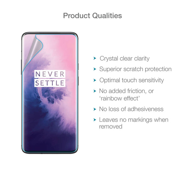 OnePlus 7T Pro / 7 Pro Full Screen Protector (Clear) | Magicscreen