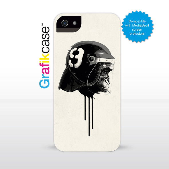 Grafikcase iPhone SE/5/5S case: Ape Riot by Hidden Moves
