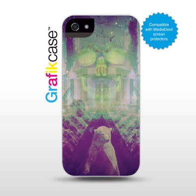 Grafikcase iPhone SE/5/5S case: Skull by Ben Hickman
