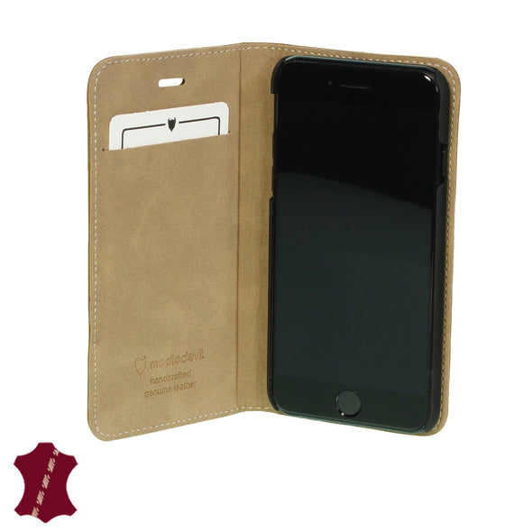iPhone 7 Plus / 8 Plus Genuine Leather Case with Stand | Artisancover