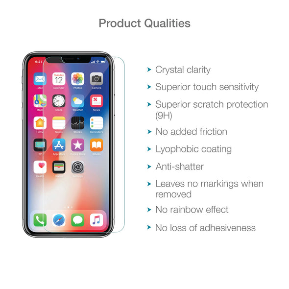 iPhone 11 Pro Tempered Glass Screen Protector (Clear) | Magicscreen