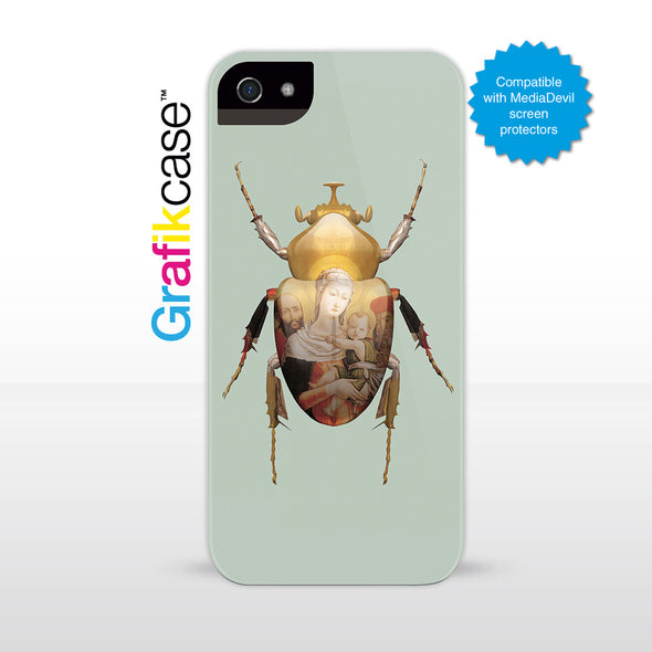 Apple iPhone SE (1st Gen) and iPhone 5/5s Case: Scarab Madonna and Child by Magnus Gjoen | Grafikcase