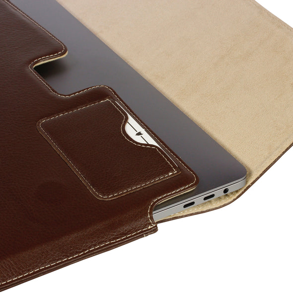 "MacBook Pro M1 (13"", 2020) Genuine Leather Case 