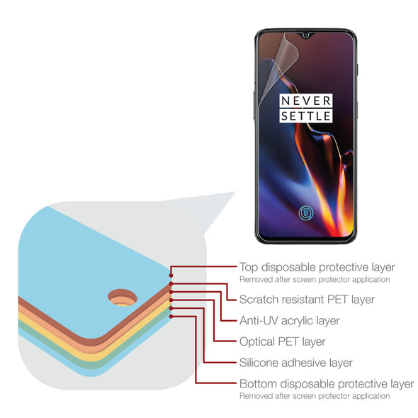 OnePlus 6T Screen Protector (Ultra-Tough, Glass-Free) | Magicscreen