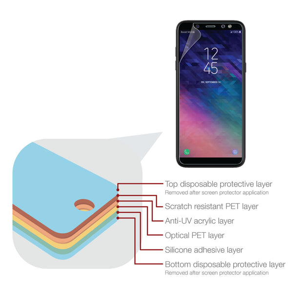Samsung Galaxy A6 (2018) Screen Protector (Ultra-Tough, Glass-Free) | Magicscreen