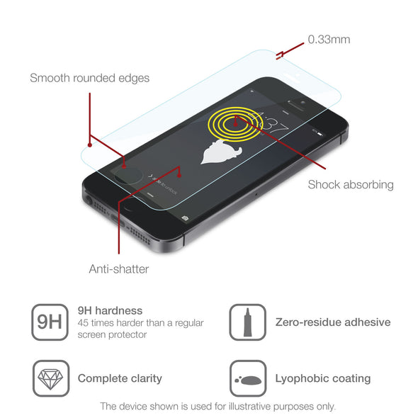 Apple iPhone 11 Pro Tempered Glass Screen Protector (Clear) | Magicscreen