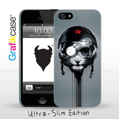 Grafikcase iPhone SE/5/5S case: Eye of the Tiger (Variant) by Hidden Moves