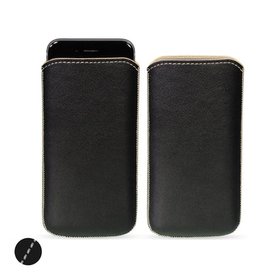 Apple iPhone 6/6s, 7 & 8 Genuine European Leather Pouch Case | Artisanpouch
