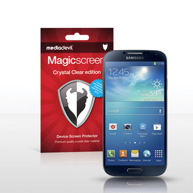 Magicscreen screen protector - Matte Clear (Anti-Glare) Edition - Samsung Galaxy S 4
