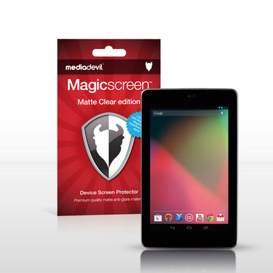 Magicscreen screen protector - Matte Clear (Anti-Glare) Edition - Google Nexus 7 by ASUS