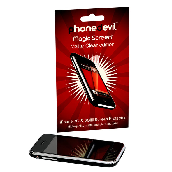 Magic Screen Protector - Matte Clear Edition - Apple iPhone 3G/3GS