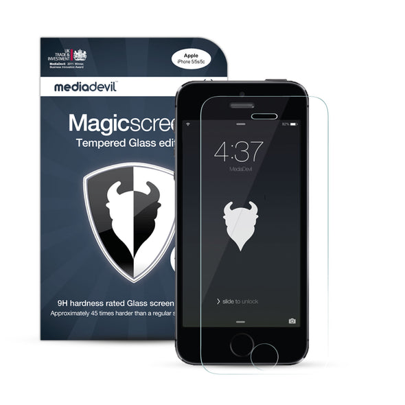 iPhone SE (1st Gen) & iPhone 5/5s/5c Tempered Glass Screen Protector (Clear) | Magicscreen