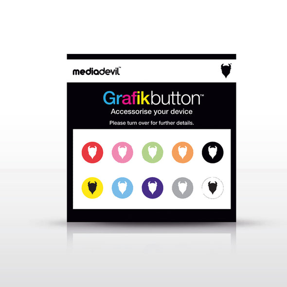 Home Button Stickers for iPhone and iPad (10-Pack) | Grafikbutton