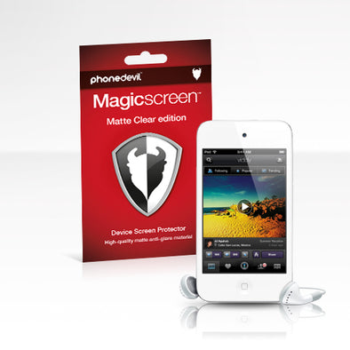 Magicscreen screen protector - Matte Clear (Anti-Glare) edition: Apple iPod Touch 4G/5G