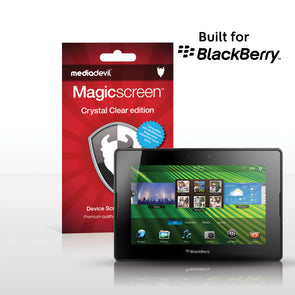 MediaDevil Magicscreen Screen Protector for BlackBerry PlayBook - Crystal Clear edition