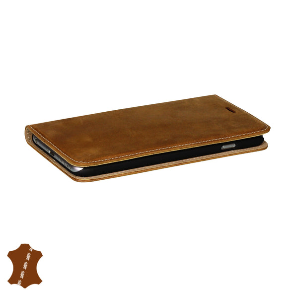 iPhone 6 Plus / 6s Plus Genuine Leather Case with Stand | Artisancover