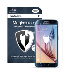 Samsung Galaxy S6 Tempered Glass Screen Protector (Clear) | Magicscreen