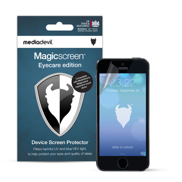 Apple iPhone SE (1st Gen) and iPhone 5/5s/5c Anti-Blue Light Screen Protector (Eyecare) | Magicscreen