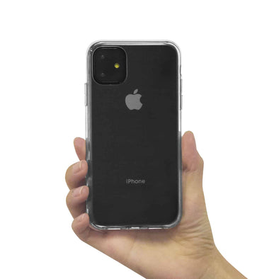 Apple iPhone 11 Reinforced TPU Gel Case (Clear)
