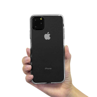 Apple iPhone 11 Pro Max Reinforced TPU Gel Case (Clear)