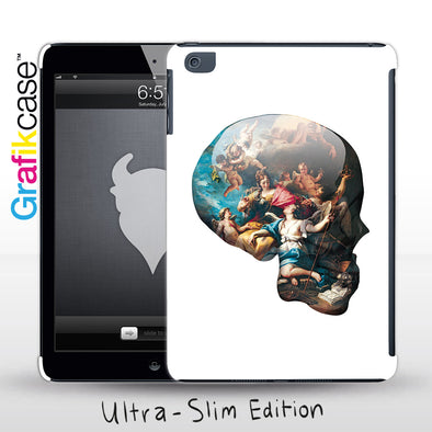Grafikcase Apple iPad Mini 1/2/3 case: Skull Victory Over Ignorance by Magnus Gjoen - Glossy