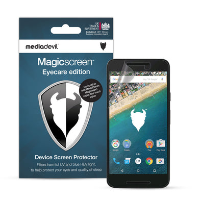 Google Nexus 5X Anti-Blue Light Screen Protector (Eyecare) | Magicscreen