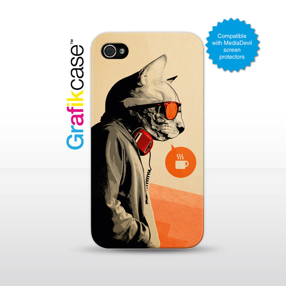 Grafikcase iPhone 4/4S case: The Morning After by Hidden Moves