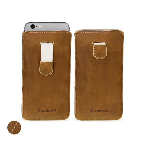 Google Pixel 3 XL Genuine European Leather Pouch Case | Artisanpouch