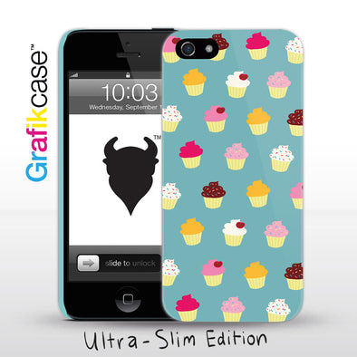 Grafikcase iPhone SE/5/5S case: Cupcakes