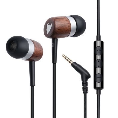 MediaDevil Artisanphonics CB-01 Graphene-Enhanced Wood Earphones