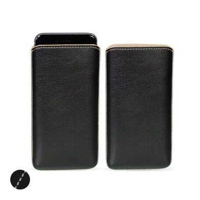 Apple iPhone X Genuine European Leather Pouch Case | Artisanpouch