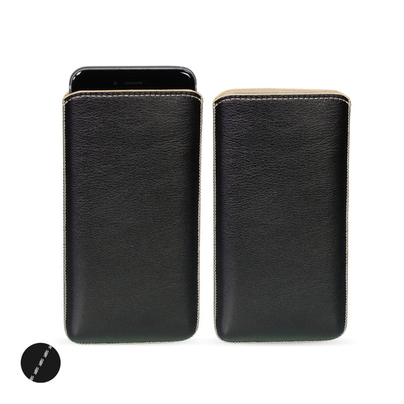 Apple iPhone XS Max Genuine European Leather Pouch Case | Artisanpouch