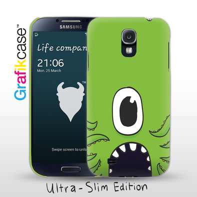 Grafikcase Samsung Galaxy S4 case: Green Monster