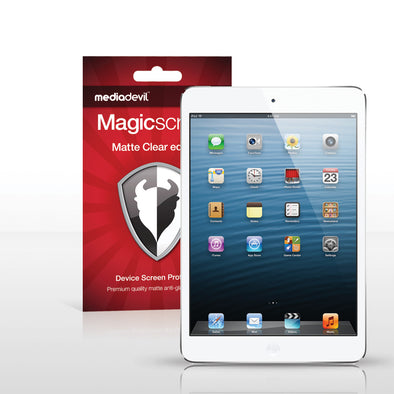 Magicscreen screen protector - Matte Clear (Anti-Glare) Edition - Apple iPad Mini