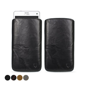 Sony Xperia Z3 Compact Genuine European Leather Pouch Case | Artisanpouch