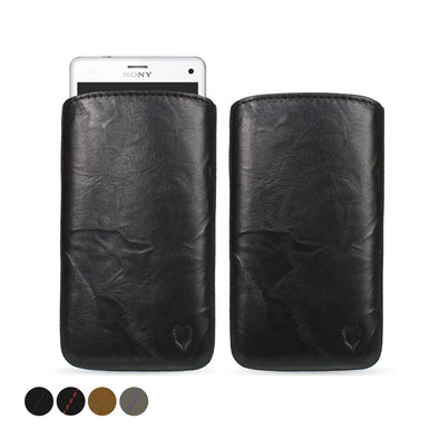 Sony Xperia Z3 Compact Genuine Leather Pouch Case | Artisanpouch