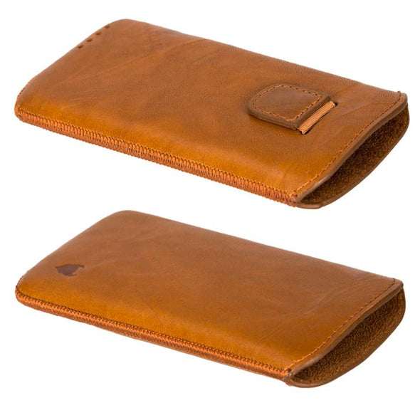 Google Pixel 4 Genuine European Leather Pouch Case | Artisanpouch