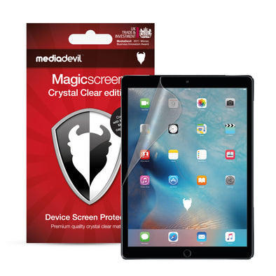 "Apple iPad (2017-2018), iPad Pro (9.7"") & iPad Air 1/2 Screen Protector (Ultra-Tough, Glass-Free) 