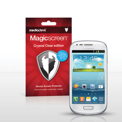 Magicscreen screen protector - Crystal Clear (Invisible) Edition - Samsung S III (S3) Mini