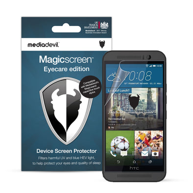 HTC One M9 Anti-Blue Light Screen Protector (Eyecare) | Magicscreen
