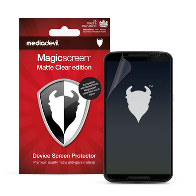 Google Nexus 6 Matte Clear (Anti-Glare) Screen Protector | Magicscreen