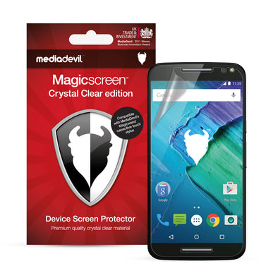 Magicscreen screen protector - Crystal Clear (Invisible) Edition - Motorola Moto X Style