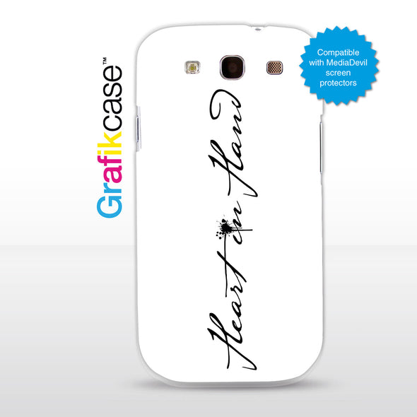 Grafikcase case: Heart in Hand - Band Logo