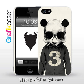 Grafikcase iPhone SE/5/5S case: Panda No. 3 by Hidden Moves