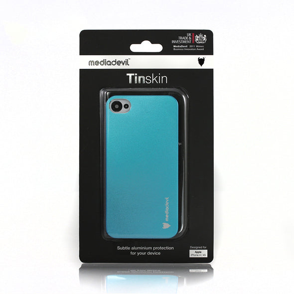 Tinskin subtle aluminium back cover case - Apple iPhone 4/4S