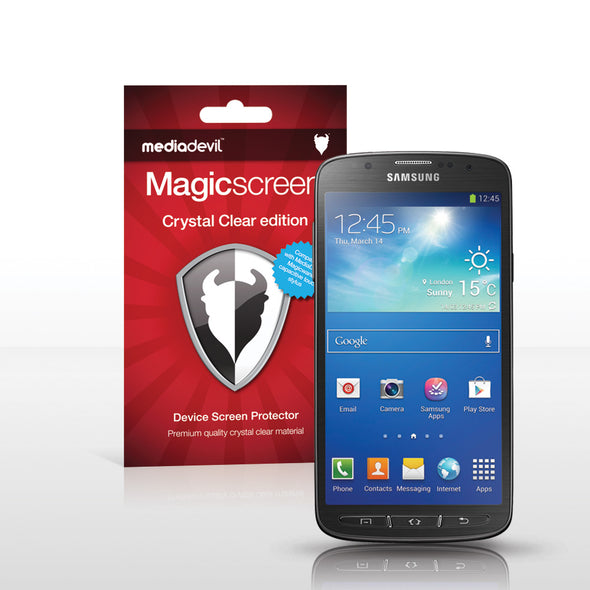 Samsung Galaxy S4 Active Screen Protector (Clear) | Magicscreen