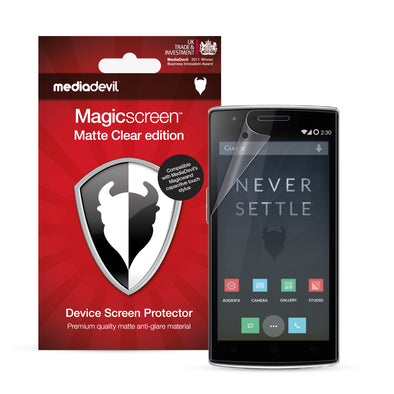 OnePlus One Matte Clear (Anti-Glare) Screen Protector | Magicscreen