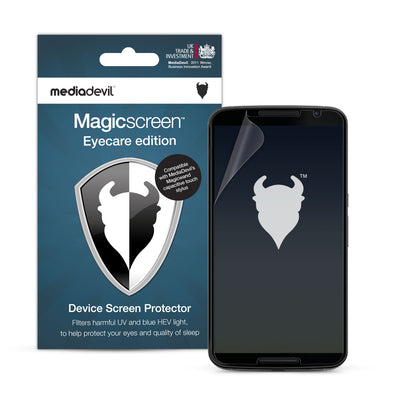Google Nexus 6 Anti-Blue Light Screen Protector (Eyecare) | Magicscreen