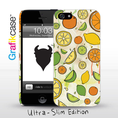 Grafikcase iPhone SE/5/5S case: Citrus Fruits